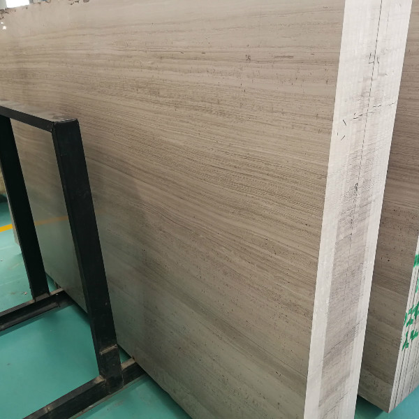 1.8cm white wood marble