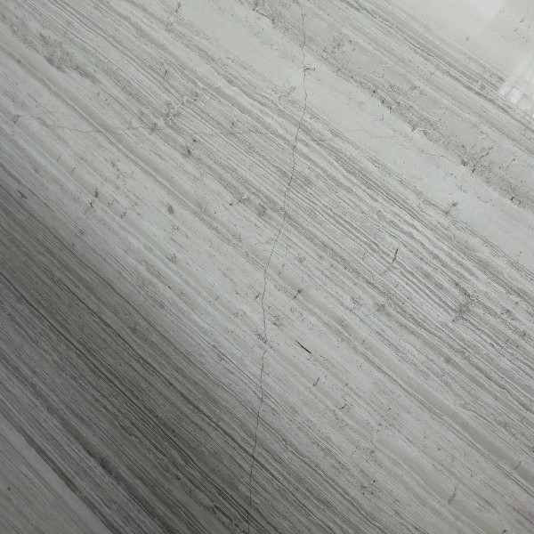 White grain wood marble