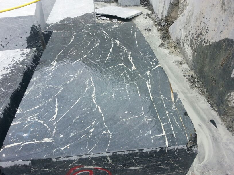 Spider Green Marble Blocks