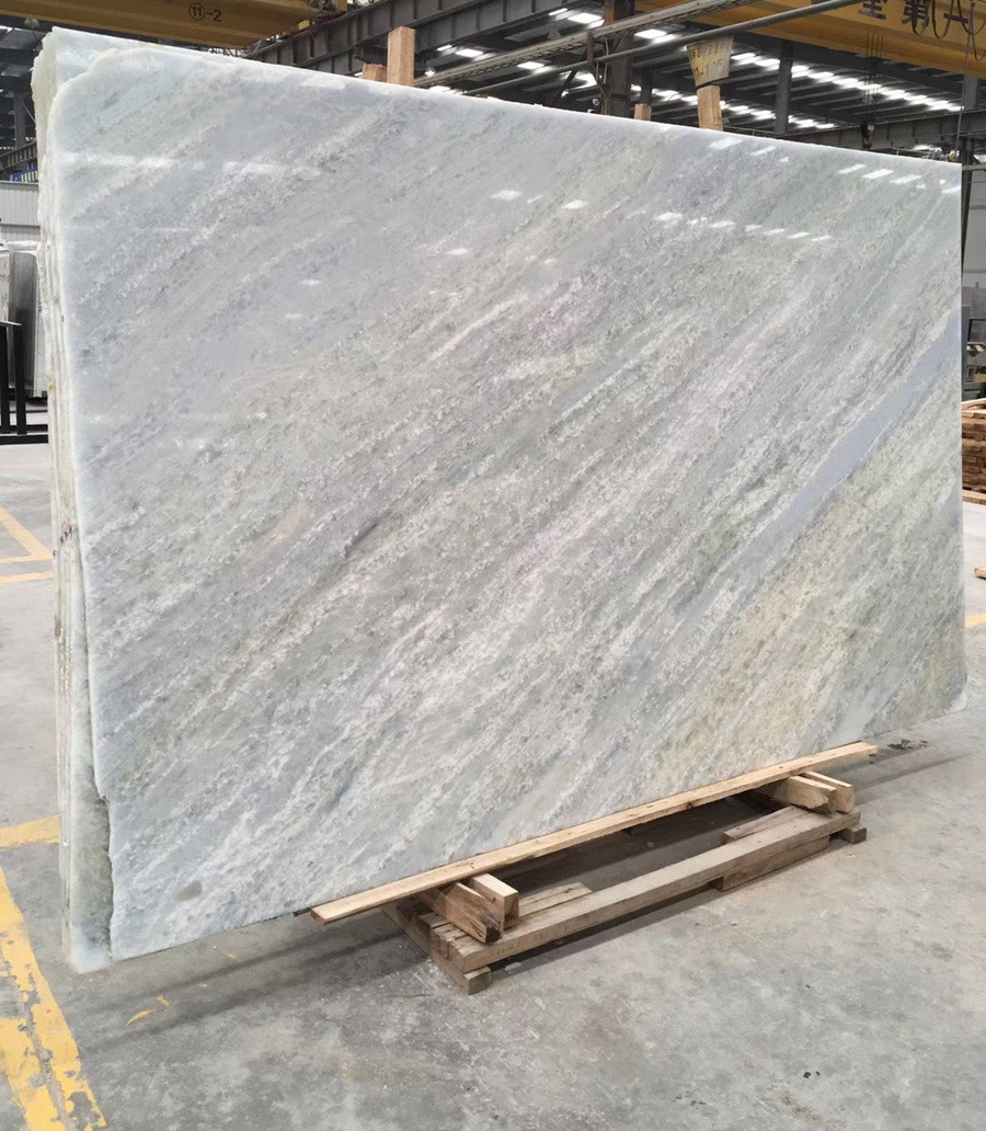 Blue Crystal Marble Slabs Chinese Marble Slabs