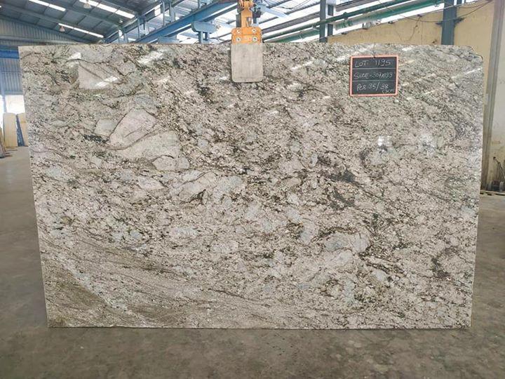 Blue Dunes Granite Slab