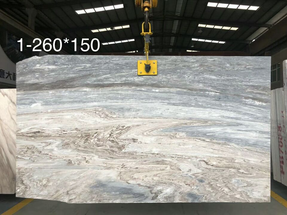 Blue Galaxy Marble Polished Slabs