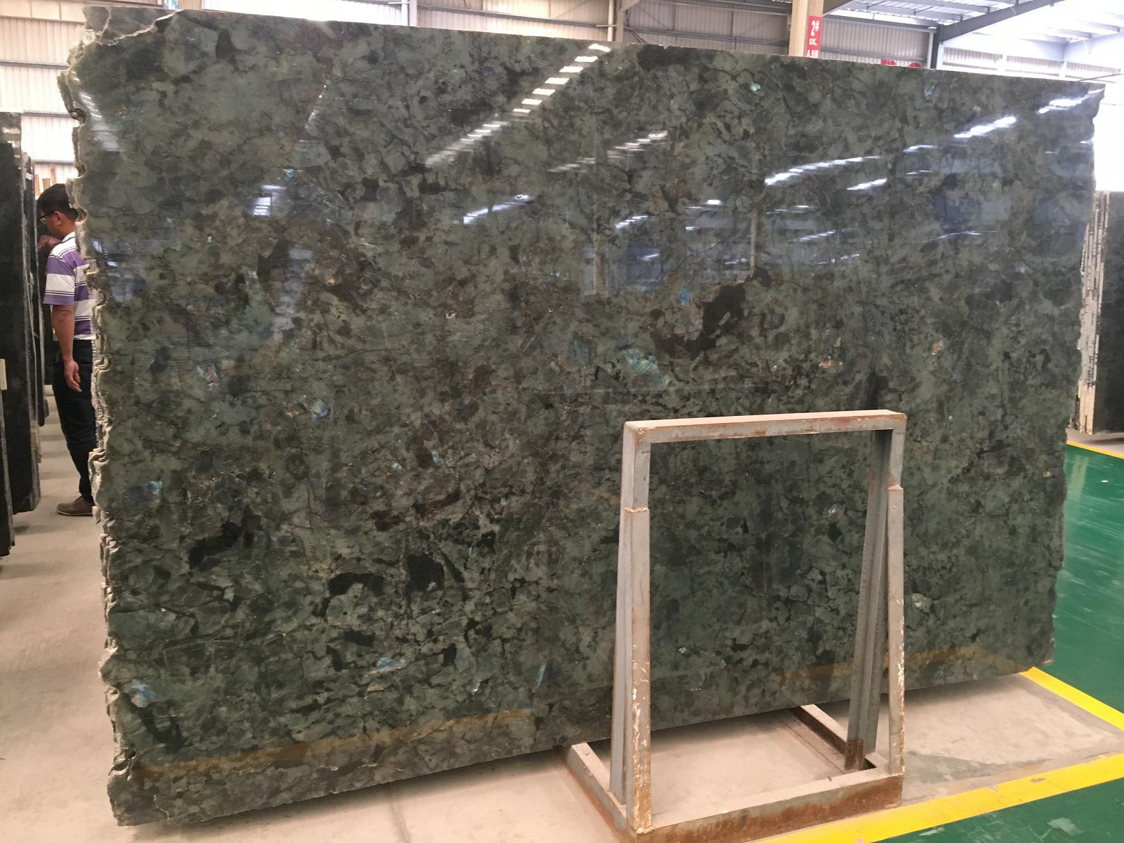 Lemurian Blue Granitelabradorite Granite Slab Tlie For Floor Wall