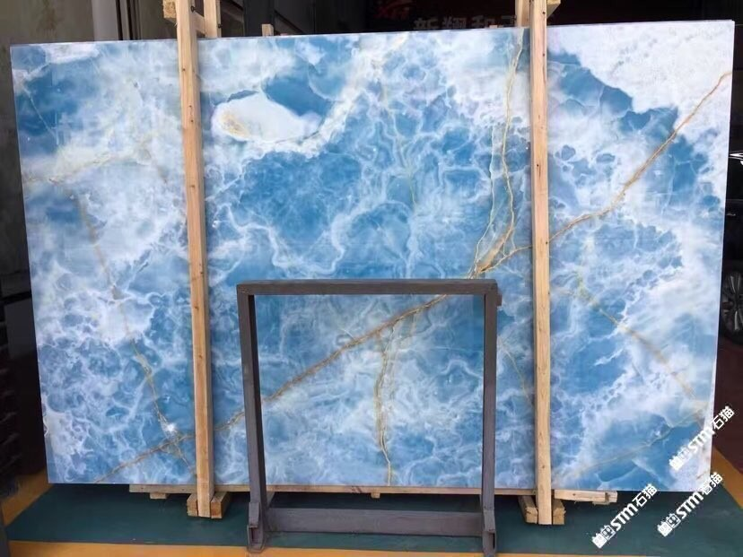 Iran Blue Onyx Slabs