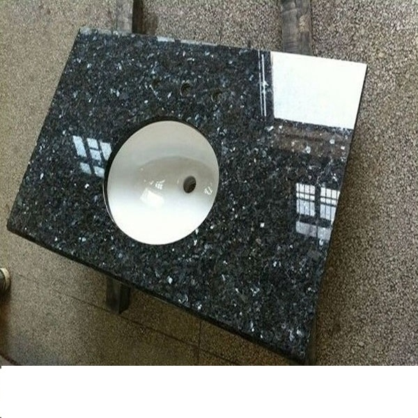 Blue Pearl Granite Bathroom Countertop