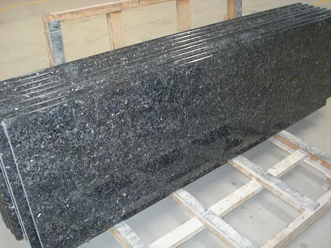 Blue Pearl Granite Tops for Kitchen