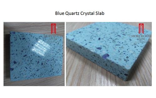 Chinese supplier blue quartz crystal stone