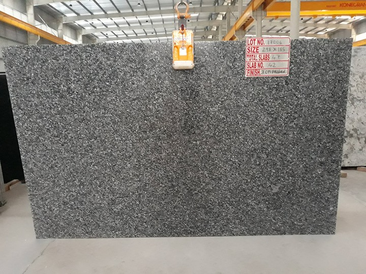 Blue Rose Granite Slab