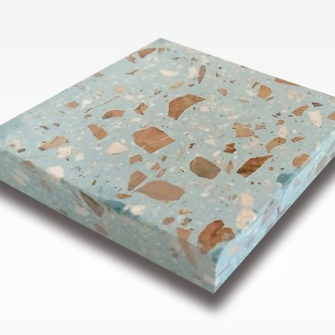 Blue Star - Terrazzo Tile Indonesia for Indoor and Outdoor Flooring 60 x 60 cm