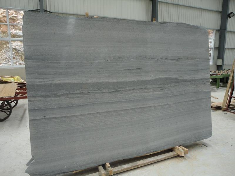 Blue wood vein marble