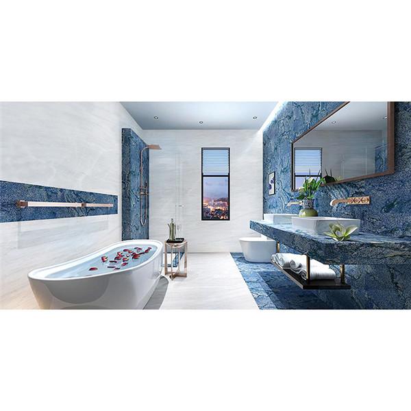 Blue Natural Granite Stone For Bathroom Adorn