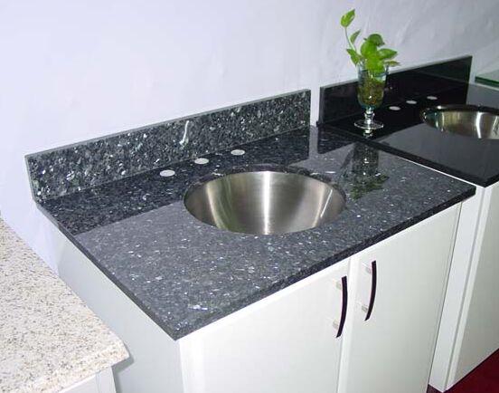 Blue Pearl countertop