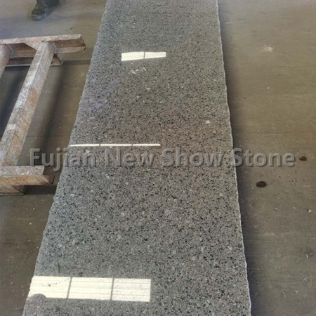 Grey diamond granite slab