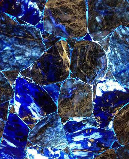 Semiprecious Stone Blue-vein Stone