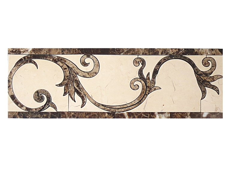 Marble Mosaic Border DS261-8