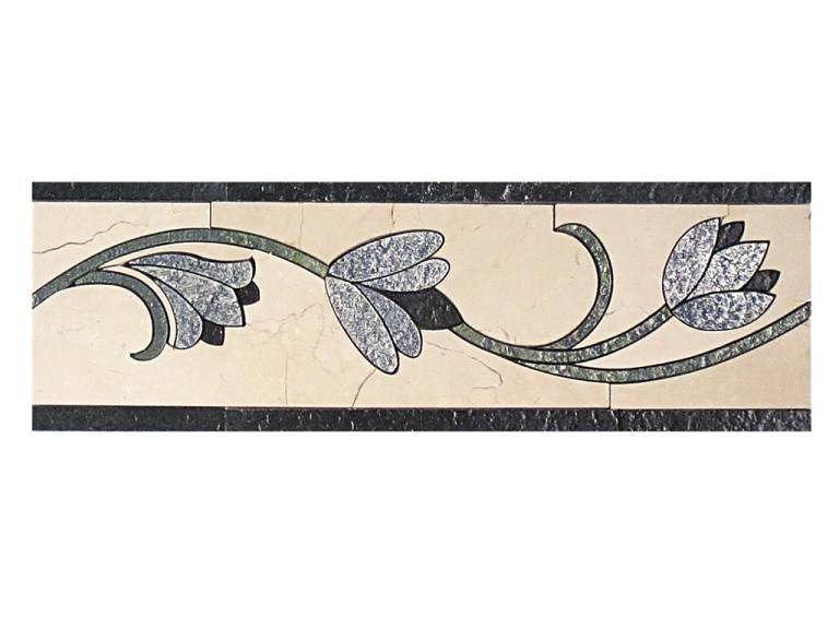 Marble Mosaic Border DS265-6