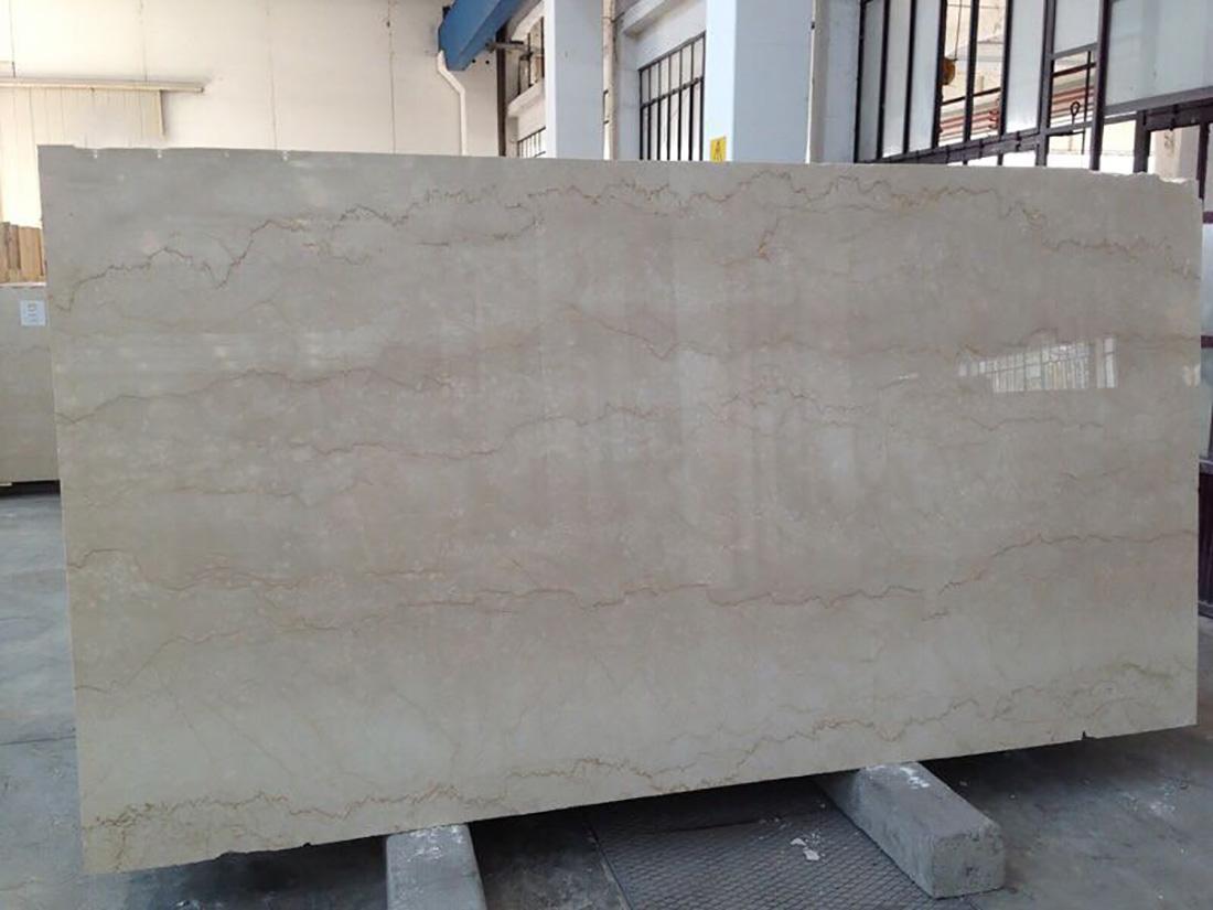 Botticino Classico Marble Polished Beige Marble Slabs
