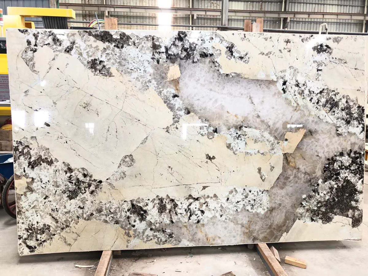Brazil Patagonia White Granite Polished Slabs