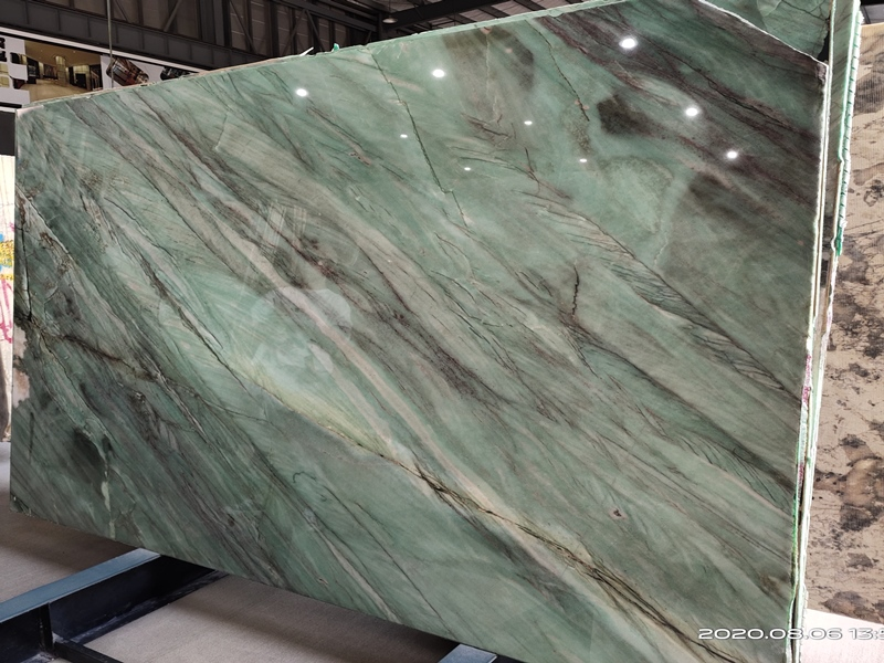 Brazil Pampers Green Quartzite Emerald Green Quartzite Slabs