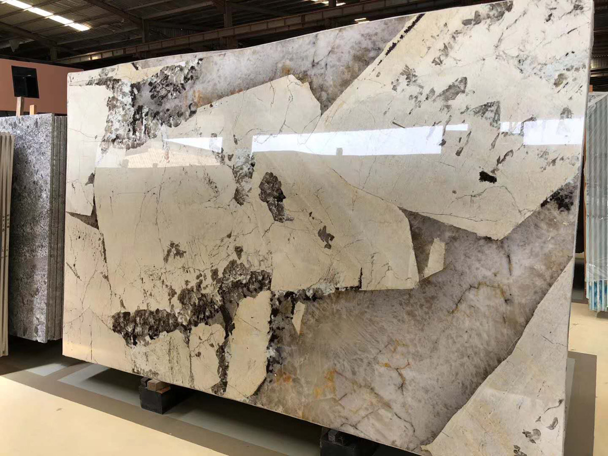 Brazilian Patagonia White Granite Polished Slabs