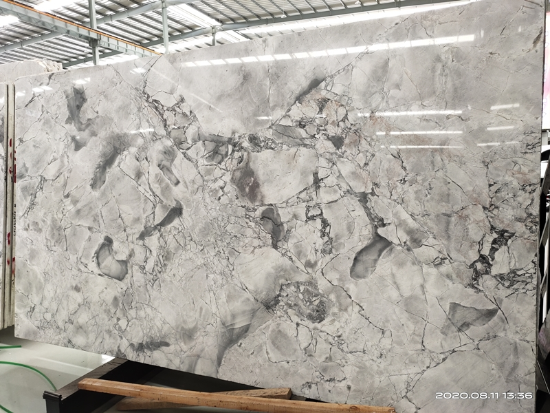Brazil Super White Quartzite Tiles Natural Grey Quart Calacatta Grey Quartize Slabs