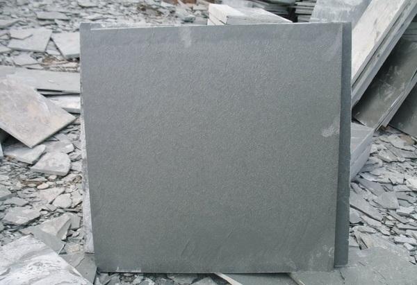 Gray slate Tile