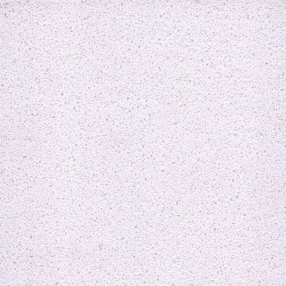 Artificial type ice snow white quartz stone