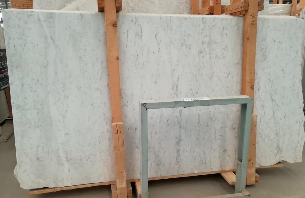 Italian White Carrara Marble Slab