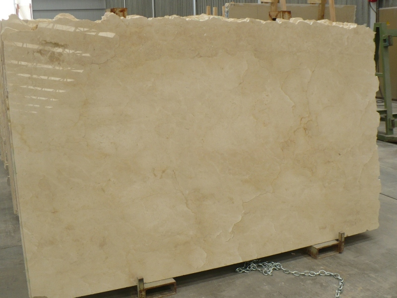 Crema Marfil Marble Slabs Low Grade