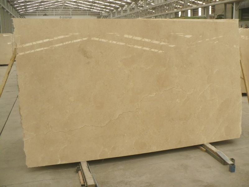 Crema Marfil Marble Slabs Medium Grade