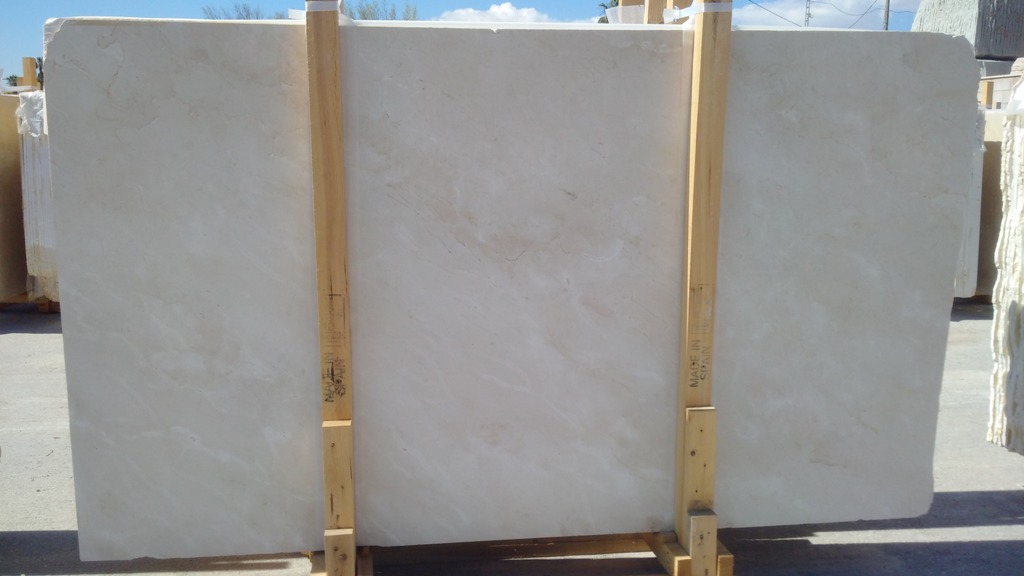 Crema Marfil Marble slabs Standard range
