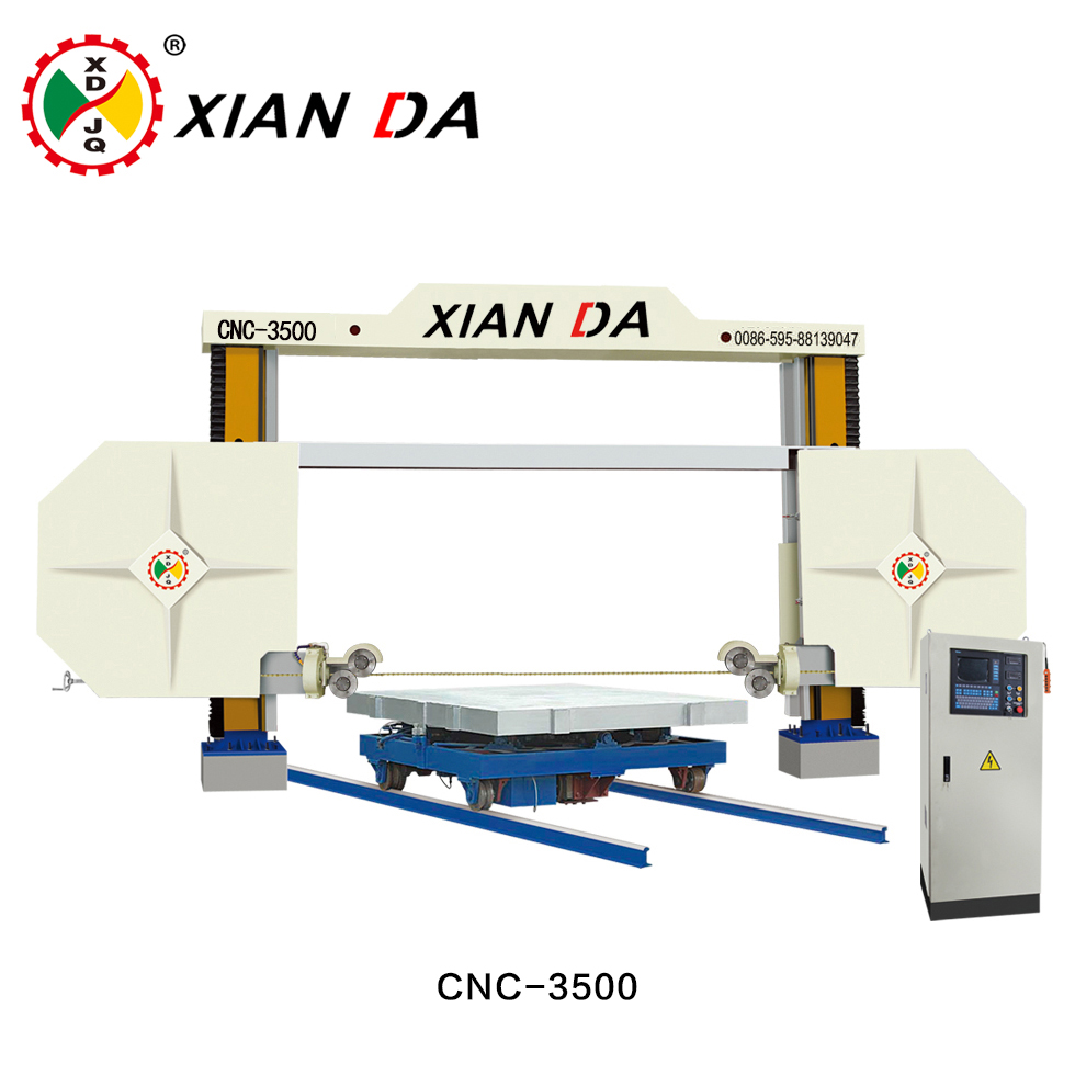 CNC-3500 CNC Diamond Wire Saw Stone Cutting Machine