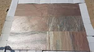Copper Slate Stone Tiles for Paving