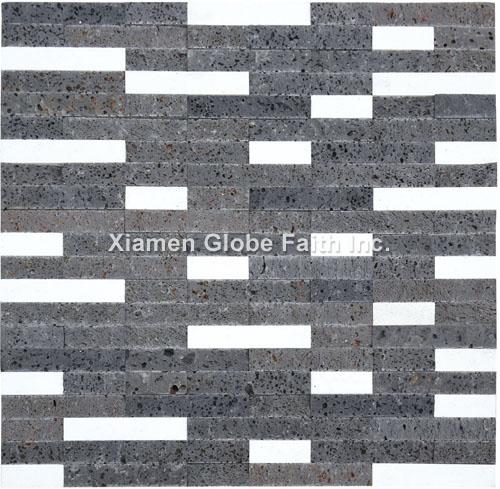 CS006 Lava stone culture stone panel