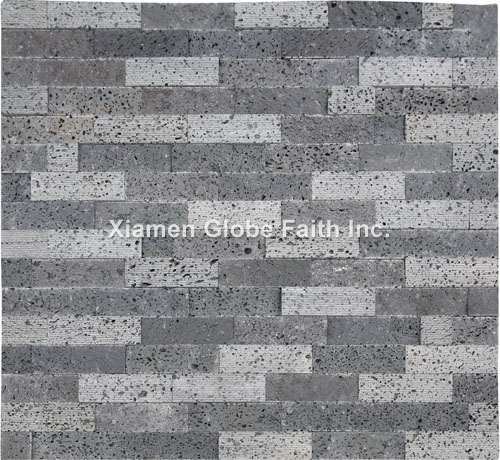 CS007 Lava stone ledgestone panel