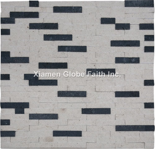CS008 Lava marble ledgestone wall cladding
