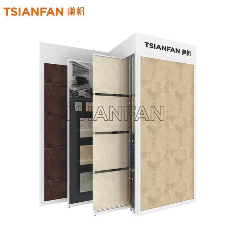 Tile Sliding Display Rack Custom-CT2154
