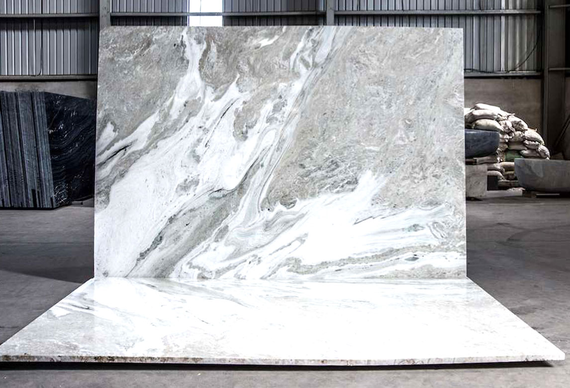 Captain White Marble - Slab