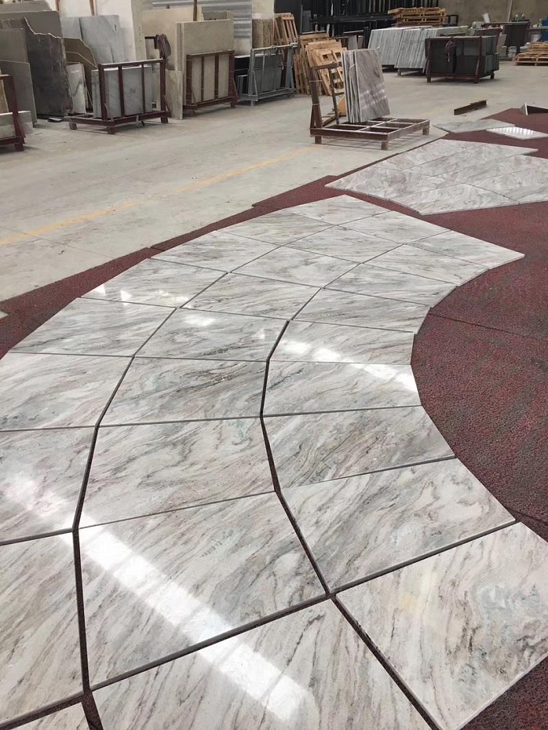 Cafe sand floor tile