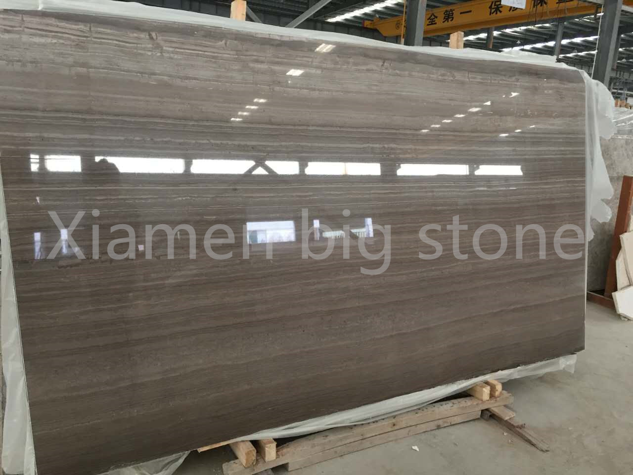 Cafe Wooden Marble Big Slab