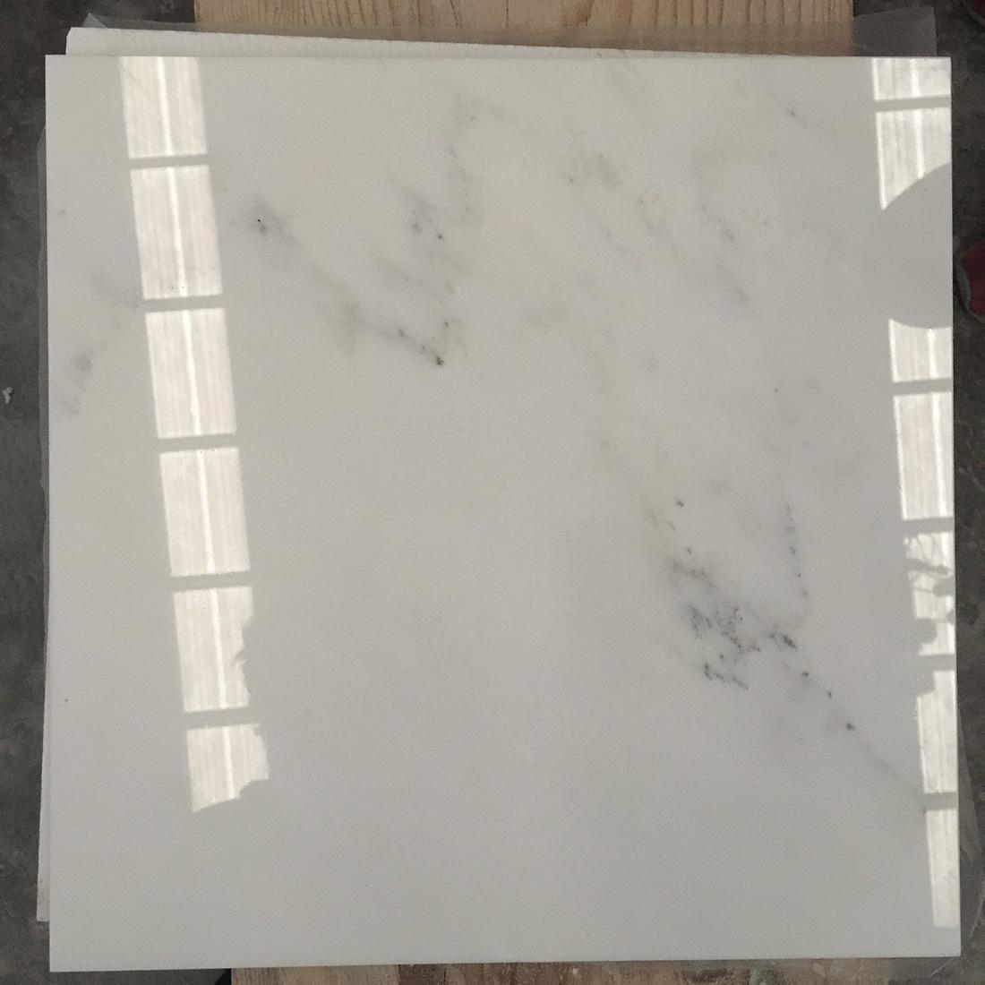 Bianco statuario white marble tiles