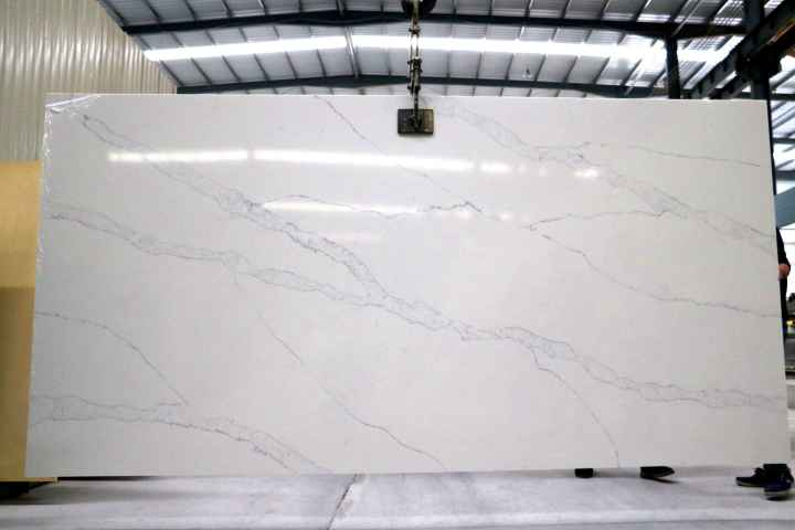 Calacatta white marble big slabs
