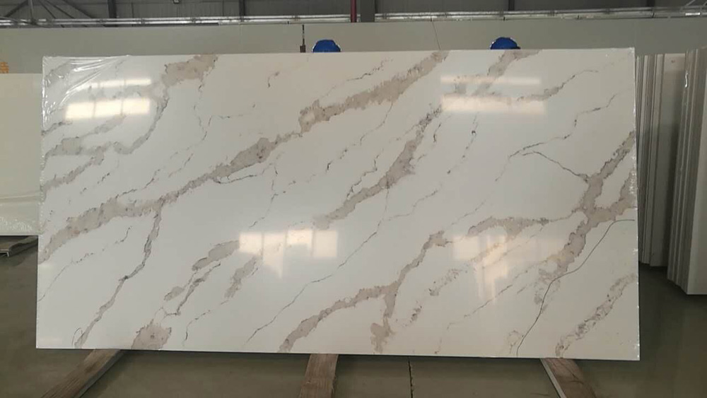 Calacatta Gold Quartz Slab
