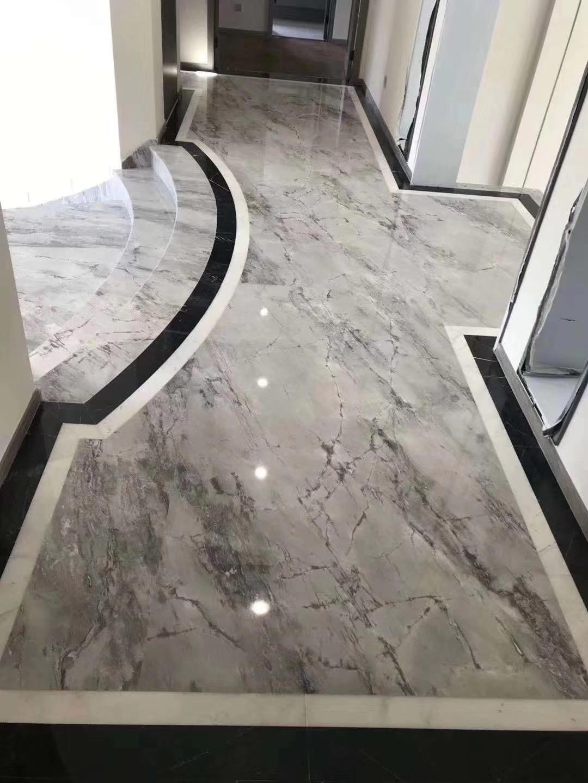 Calacatta grey floor tile