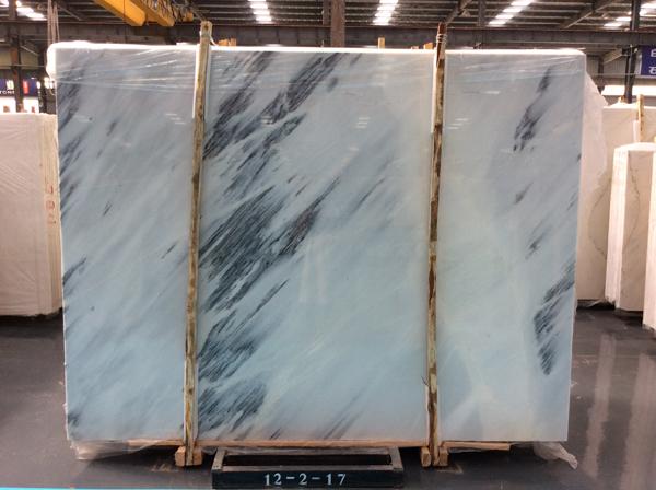 Calacatta Grey Blue Sky Jade White Marble
