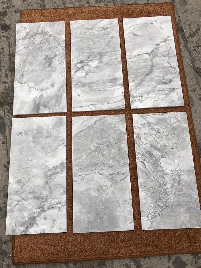 Calacatta grey tile