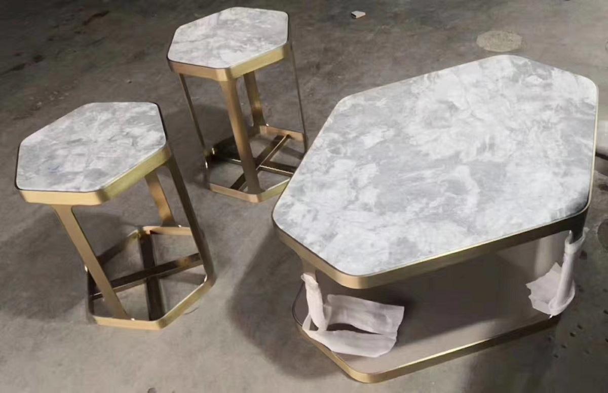 Grey tabletop