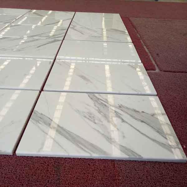 Calacatta White Marble Tile