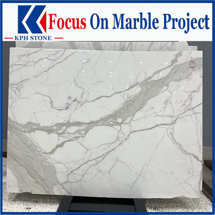 Wholesale calacatta white marble
