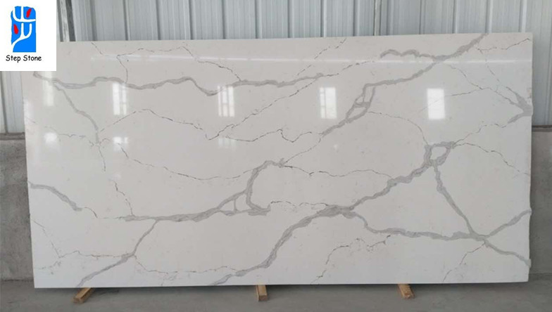 Calacatta quartz countertops slabs